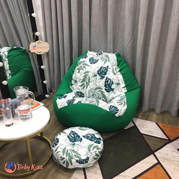 Ghế lười vải thô