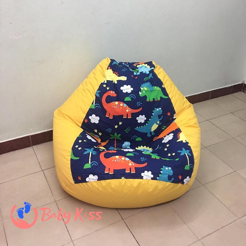 Gối lười ghế lười hạt xốp tại Bình Thạnh HCM uy tin