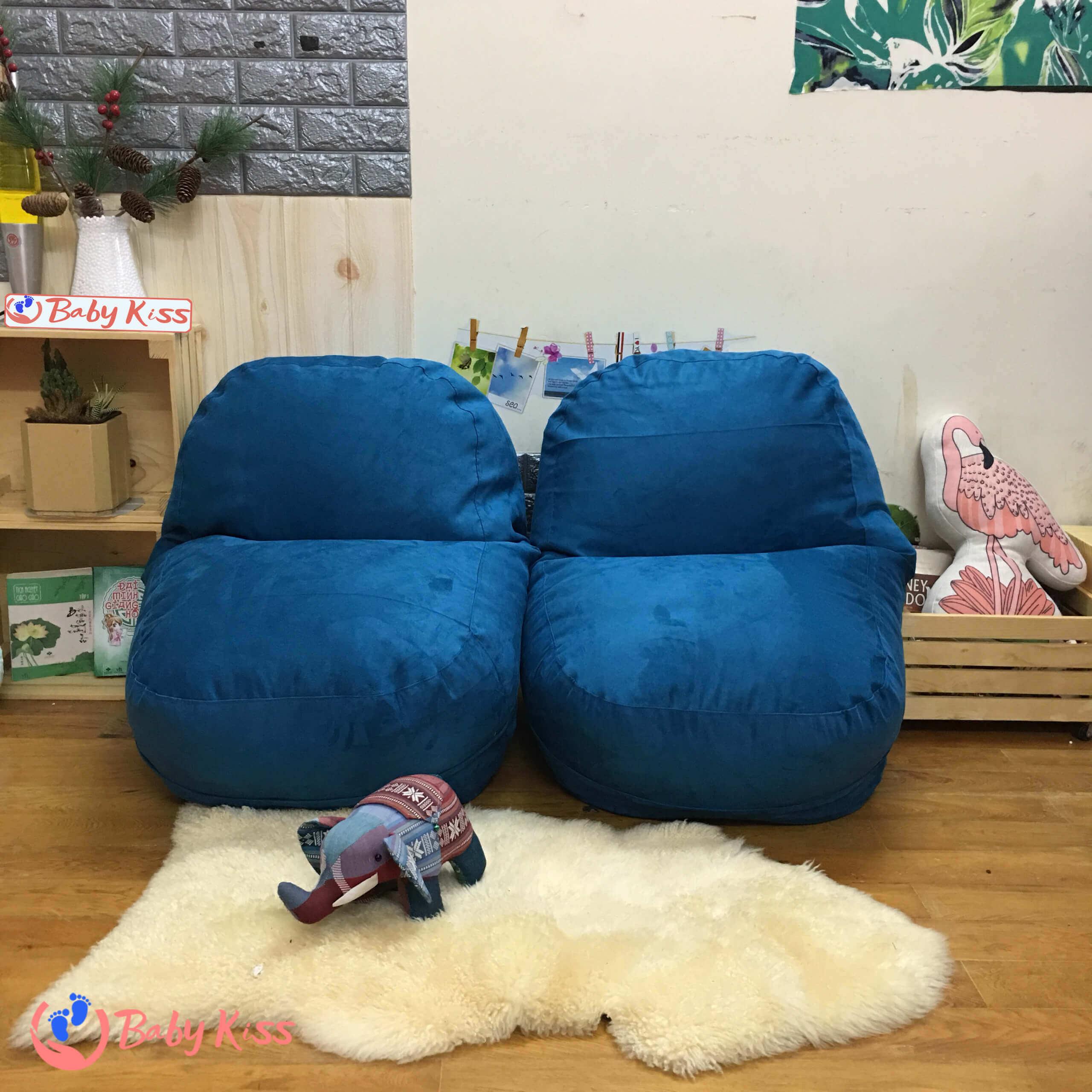 Gối lười ghế lười hạt xốp tại Quận Phú Nhuận TPHCM giá rẻ