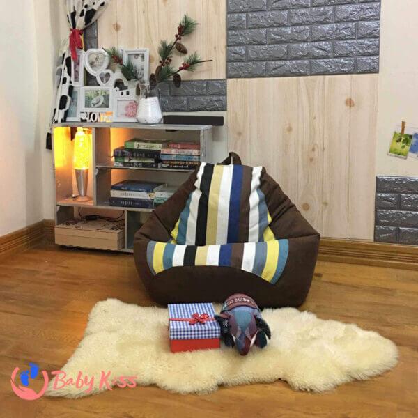 Gối lười ghế lười hạt xốp tại quận Tân Phú chất lượng giá rẻ