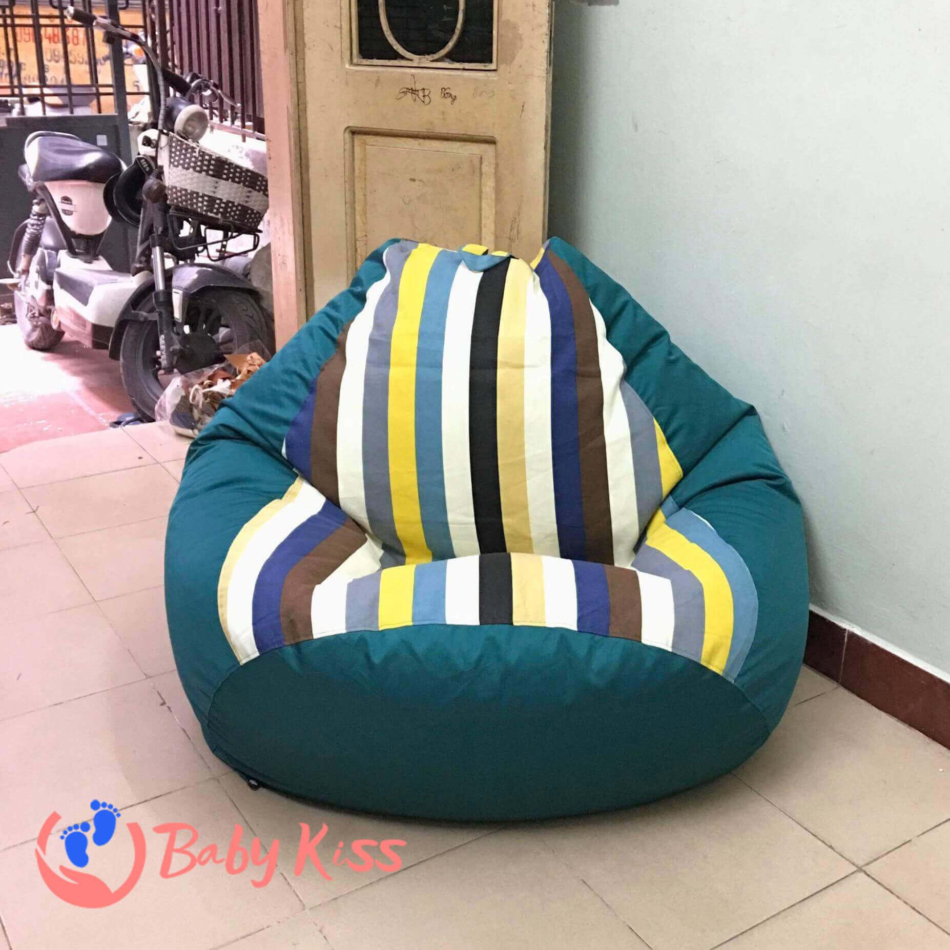 Gối lười ghế lười hạt xốp tại quận Tân Phú giá rẻ