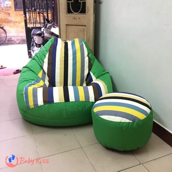 Gối lười ghế lười hạt xốp tại quận Tân Phú uy tin