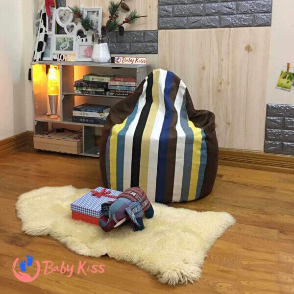 Gối lười ghế lười hạt xốp tại quận Tân Phú uy tín giá rẻ