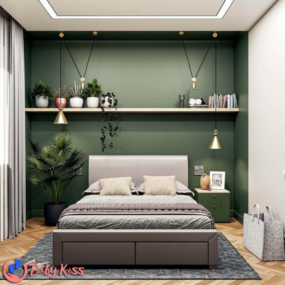 ghế lười tròn và phong cách phòng ngủ hiện đại