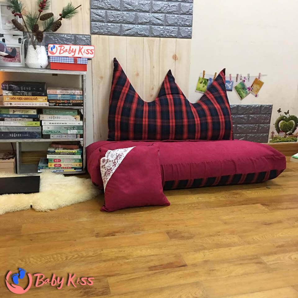 ghế lười bệt cho bà bầu dáng sofa (ghế lười hạt xốp) giá rẻ chất lượng số 1