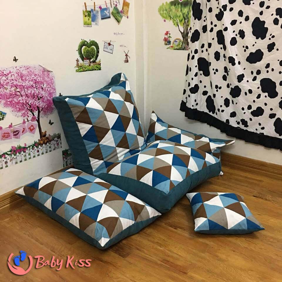ghế nệm lười (túi ngồi hạt xốp)