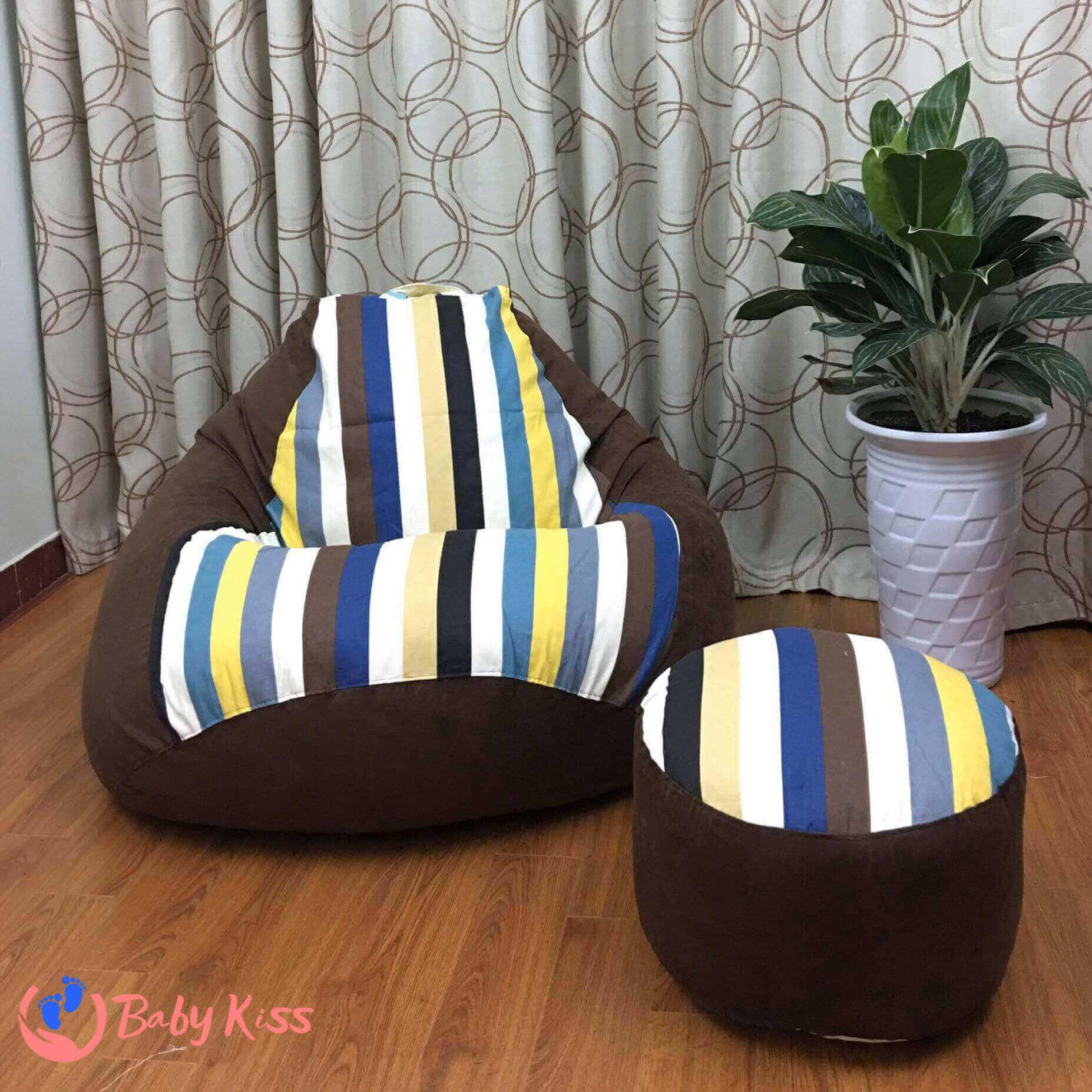 Ghế lười bệt cao cấp (gối lười ghế lười hạt xốp) và mệnh Thổ