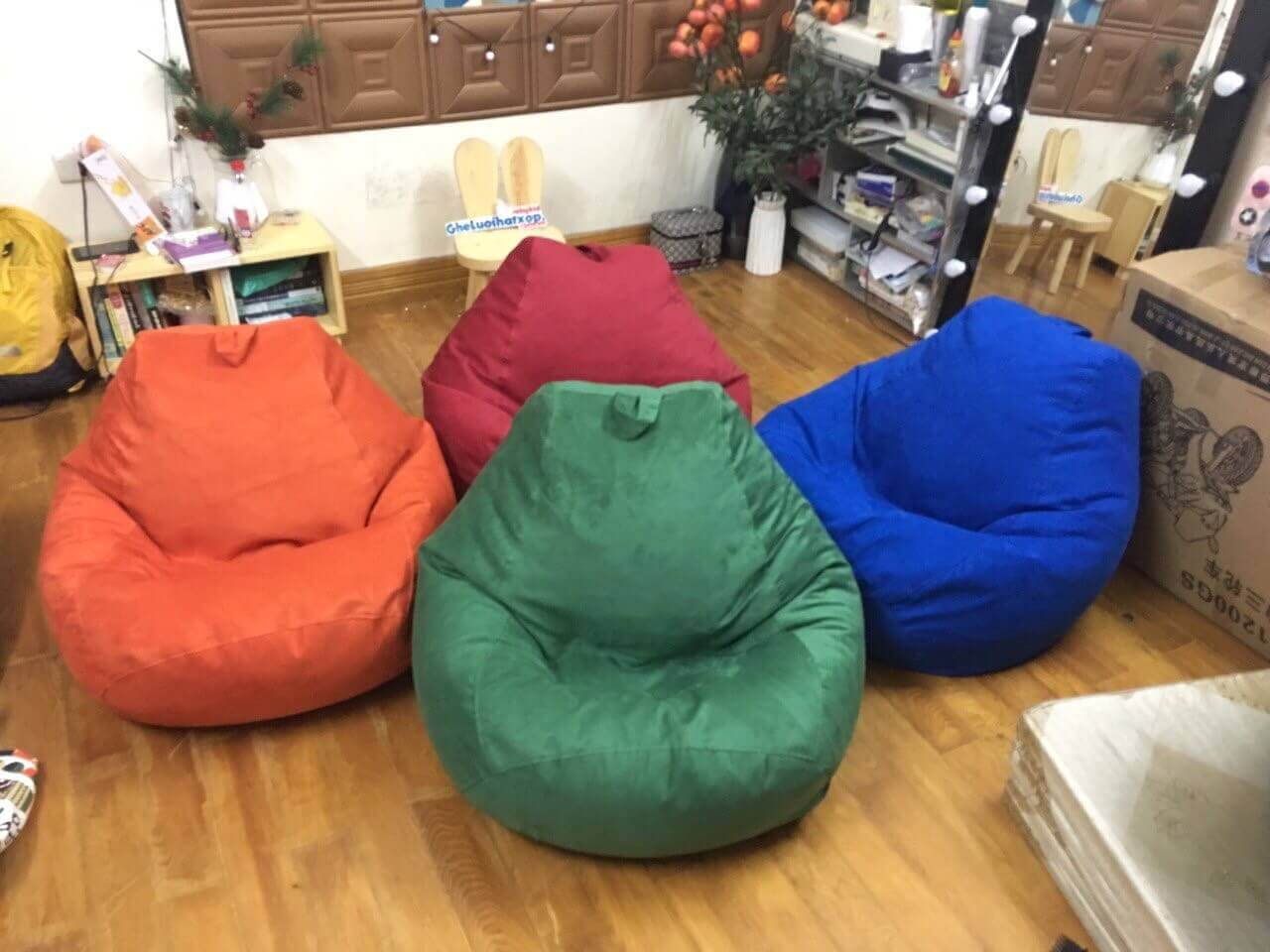 Cách chọn màu sắc ghế lười hạt xốp (ghế lười bệt cao cấp) theo phong thủy mới nhất 2021