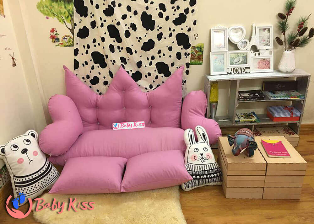 Ghế lười giá rẻ đẹp nhất (gối lười ghế lười hạt xốp sofa) món quà dành cho cả gia đình