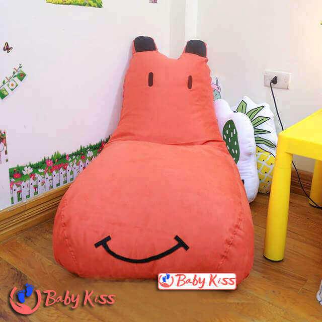 Gối lười ghế lười hạt xốp cao cấp dáng sofa