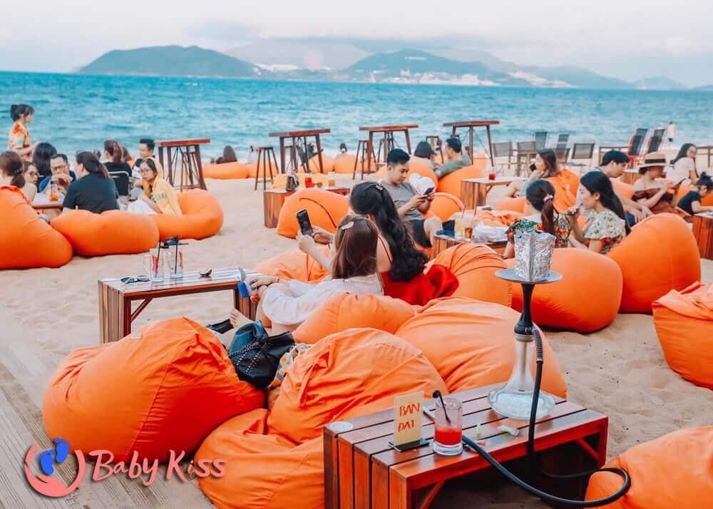 ghế lười hạt xốp bãi biển và resort uy tín chất lượng giá rẻ