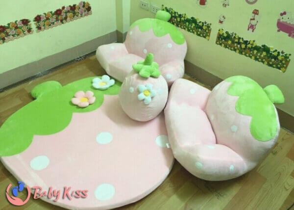 Ghế lười hạt xốp sofa giá rẻ số 1 TPHCM