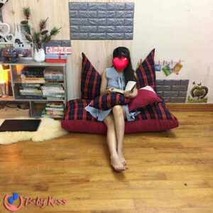 Ghế lười hạt xốp sofa thư giãn