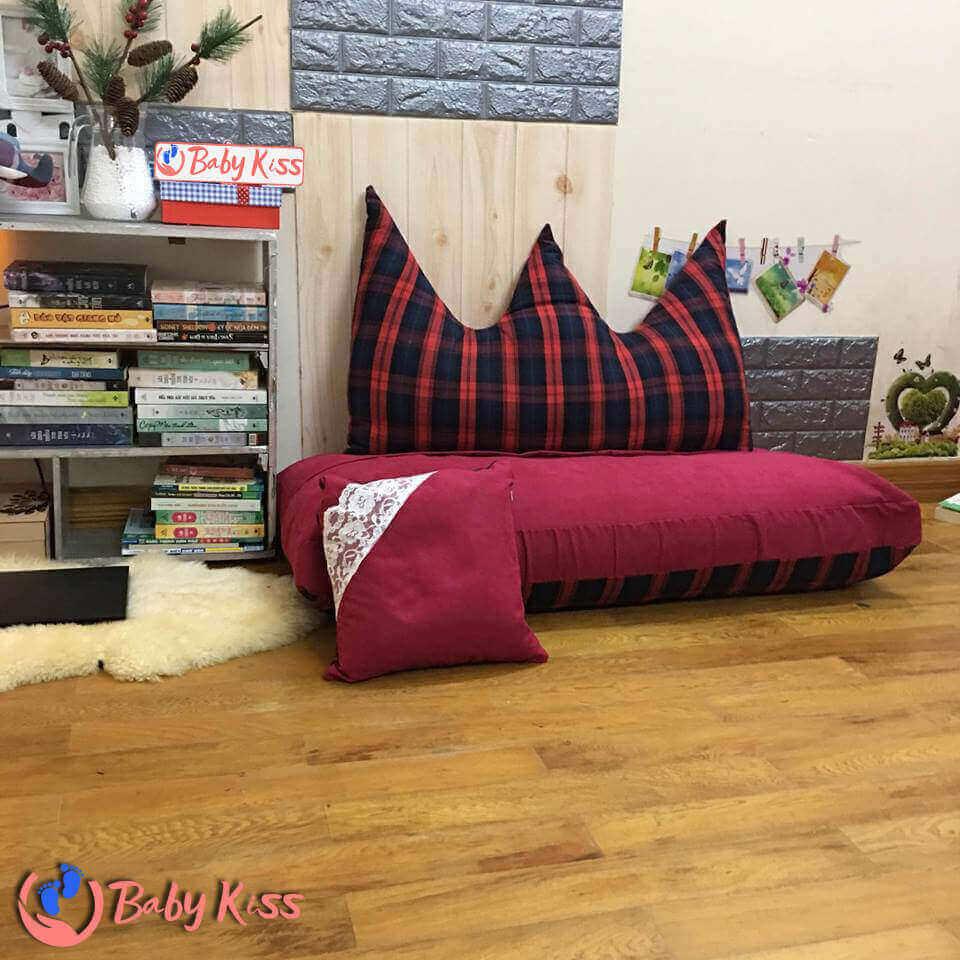 Gối lười ghế lười hạt xốp sofa đọc sách số 1 giá rẻ TPHCM